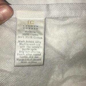 LC Lauren Conrad bedskirt in Pale Blue